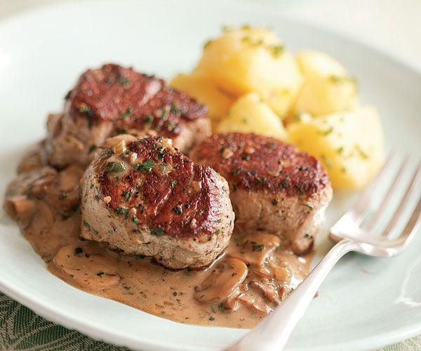 pork medallions in mushroom marsala sauce pork tenderloin recipes pork ...