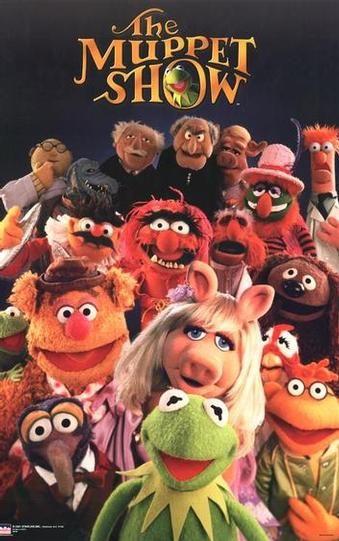 El show de los Teleñecos. Fantástica serie infantil con inolvidables personajes obra del excelente Jim Henson