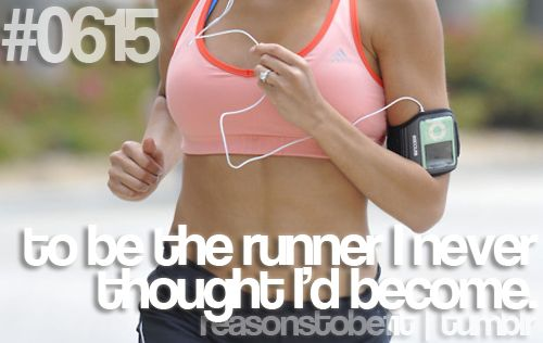 #0615 | to be the runner i never thought i'd become