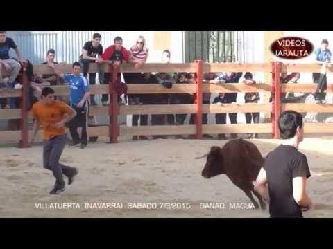 VILLATUERTA ( NAVARRA ) PLAZA ( SABADO 7 MARZO 2015 ) MACUA - YouTube