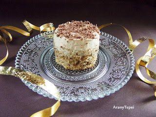 AranyTepsi: Kávékrémes-diós sütemény