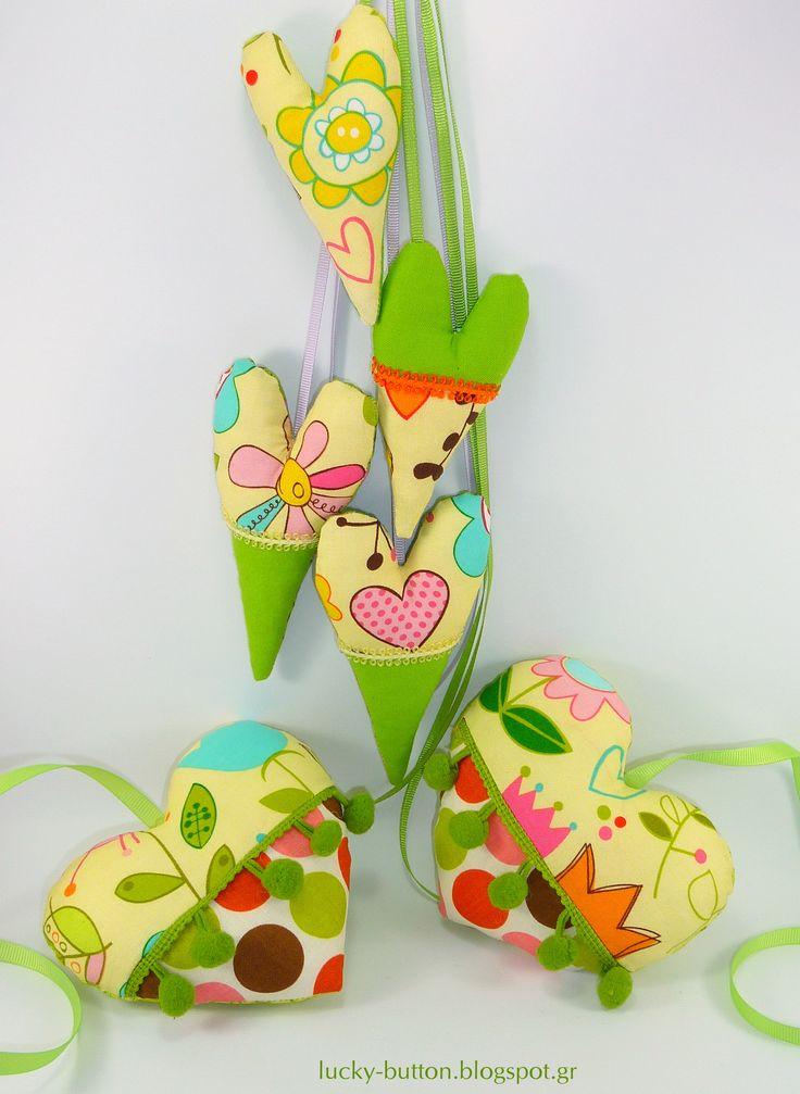 Handmade hearts