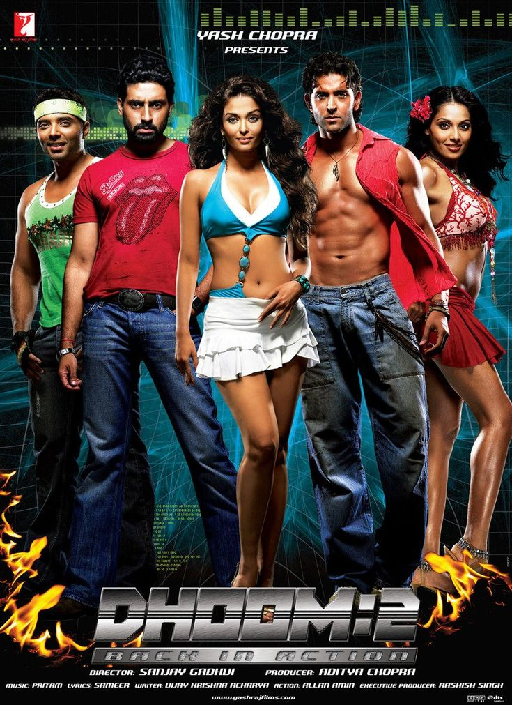 Dhoom 2: Back In Action, India, 2006 #Dhoom #movie #india
