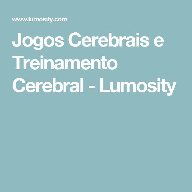 Jogos Cerebrais e Treinamento Cerebral - Lumosity