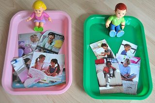All About Me activity for toddlers