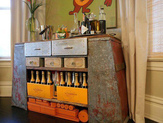 Bars & Bar Carts at Home