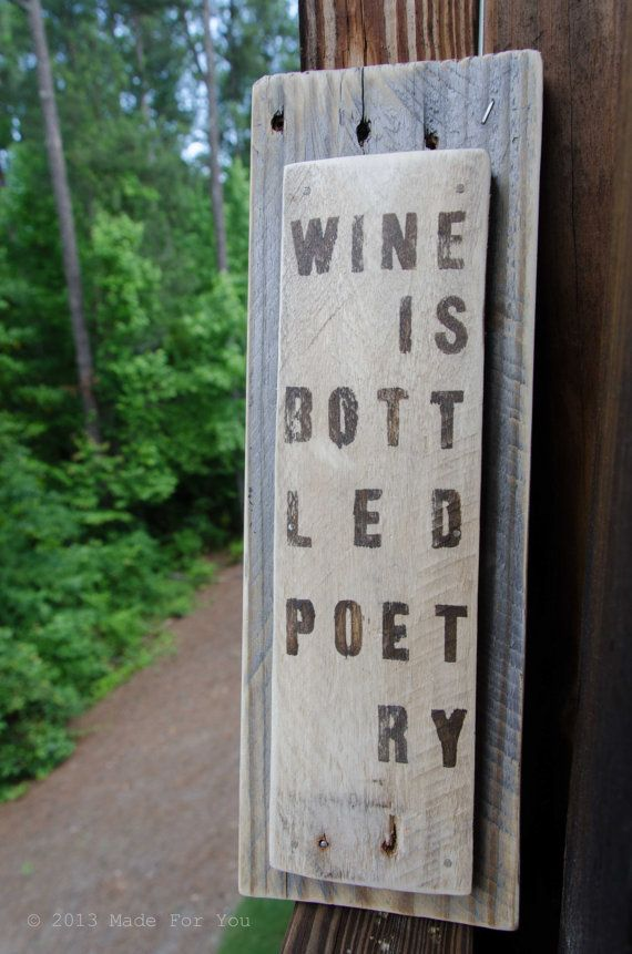 17 Best Images About Poetry On Pallets On Pinterest