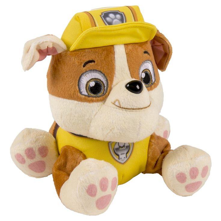 Paw Patrol - Rubble Pup Pals Plush