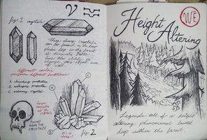 Gravity Falls Journal 3 Replica - Height Altering by leoflynn