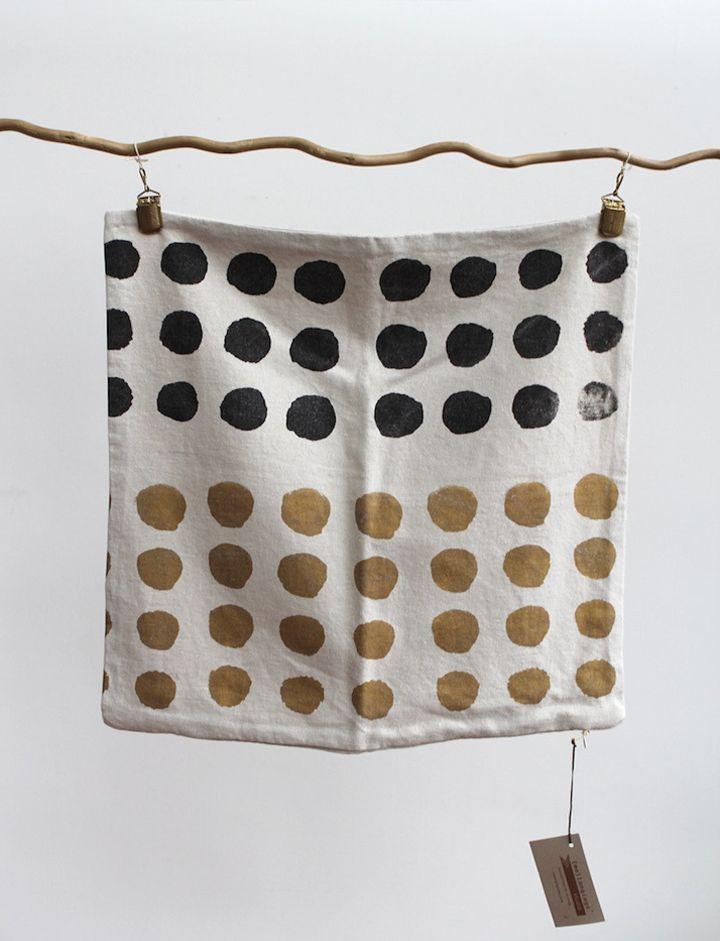 Handprinted Textiles by {Me}longings Studio // Ръчно принтиран текстил от студио {Me}longings | 79 Ideas