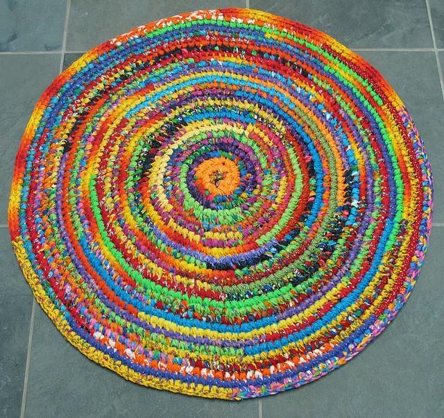 Gorgeous Braided Rag Rug