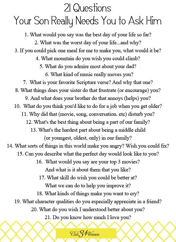 21 question questions to ask a girl