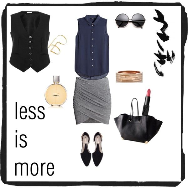 minimal style1 by elenilor on Polyvore featuring H&M, Vilshenko, Zara, Repossi, Bisjoux, NARS Cosmetics and Chanel