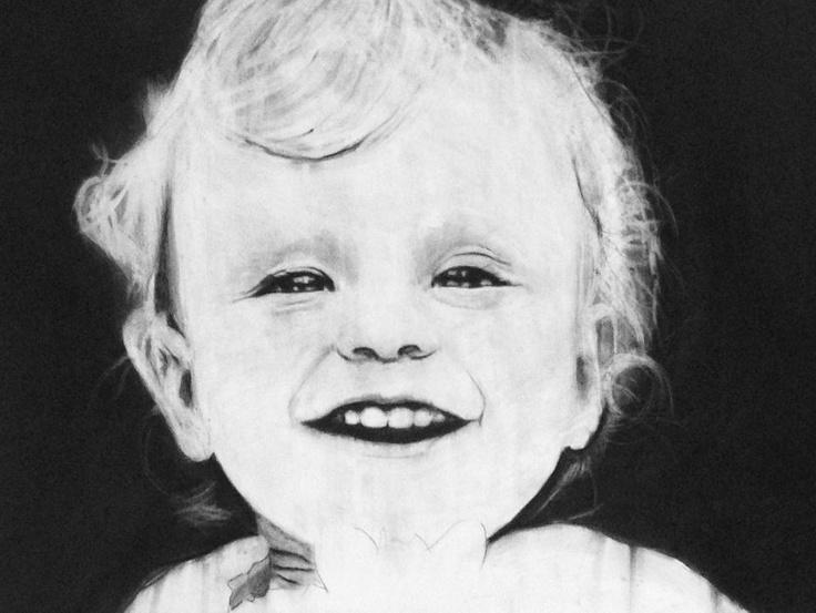 Jon's portrait of our friends child