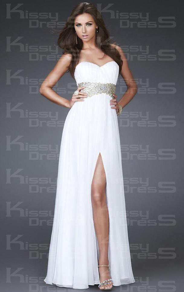 Chiffon A-line Sweetheart Sleeveless Long Prom Dress Yes please!