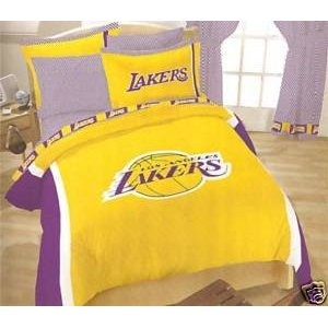 Lakers Bedroom Decorating Desig on
