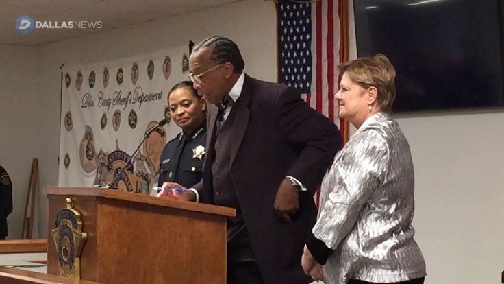 Marian Brown, Dallas County's First Black Sheriff Sworn Into Office