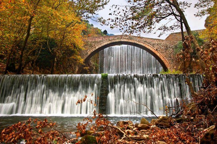 Palaiokaria stone-bridge