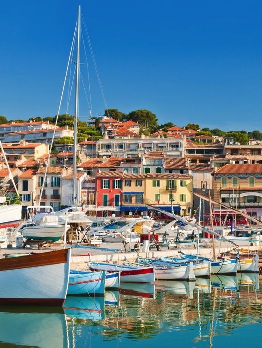 Colorful Cassis, France.: The South, Inside Guide, South Of France, Buckets Lists, Favorite Places, France Riviera, Beautiful Places, Beautiful French, Southern France