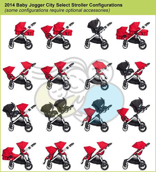 Baby Jogger City Select Double Stroller | Baby jogger city ...
