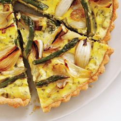 Savory Spring Vegetable and Goat Cheese Tart | Recipe ...