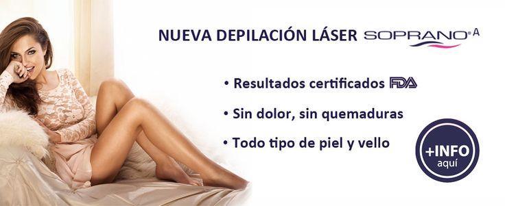 Especialistas en Depilacion Laser Diodo Soprano (Madrid)
