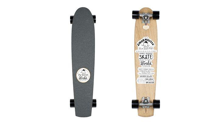 Heritage Paris x Isabel Marant - Skateboard - Longboard  #isabelmarant #heritageparis #skate #skateboard #fashion #luxery #mode #longboard