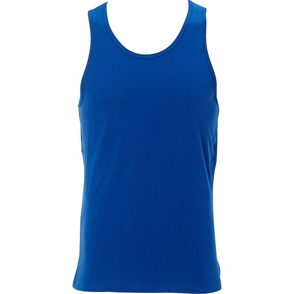 Simplex Premium Mens Tank - S - Royal - Shirts ($24) ❤ liked on Polyvore featuring men's fashion, men's clothing, men's shirts, men's tank tops, blue, mens square cut tank top, mens shirts, mens tank tops and mens blue shirt