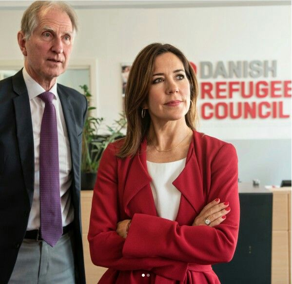 25 September 2017 - Princess Mary attends a meeting with the Danish Refugee Council
