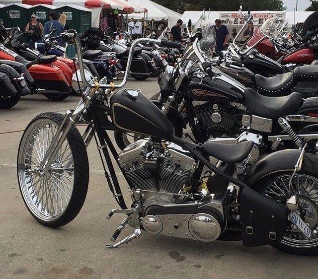 cool Custom Bobbers For Sale: 2006 Custom Built Motorcycles Bobber  2007 Sucker Punch Sally Style Bobber