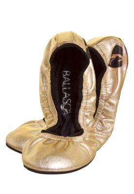 Sapatilha Ballasox Prince Dourada