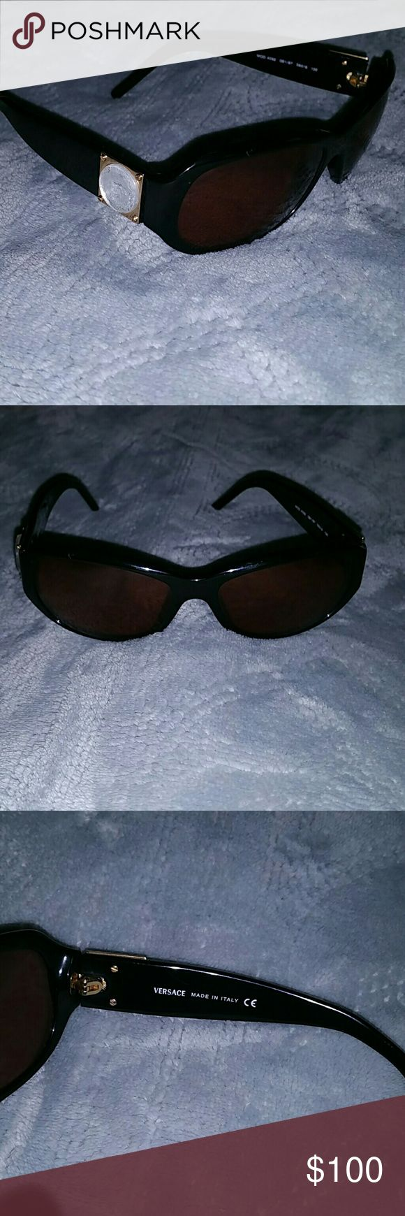 BLACK FRIDAY SALE!!!!Versace sunglasses Versace sunglasses does not come with the case. Versace Accessories Sunglasses