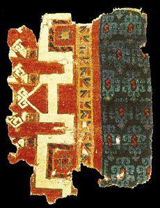 Historical Seljuk / Seljuq rugs and carpets Seljuk rug fragment, 13th century, Konya, Turkey. inv. no: 684 Current Location: Turk ve Islam Eserleri Muzesi, Istanbul