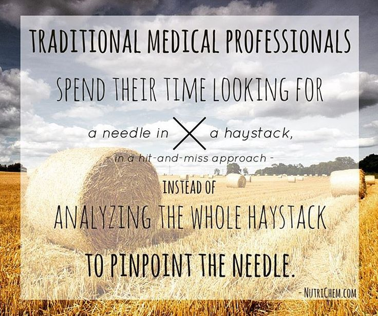 Sadly, this is the #truth. That's why #nutrichem is all about #alternatives: #sciencebased and #resultsbased as opposed to guesswork! #personalizedhealthsolution