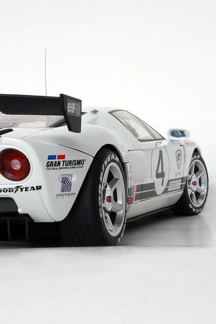 Ford Gt Lm Race Car Spec Ii Gt