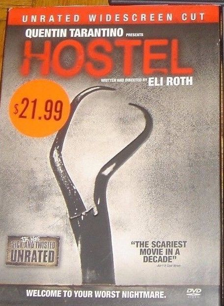 Jay Hernandez Derek Richardson in Hostel Quentin Tarantino DVD Unrated Edition