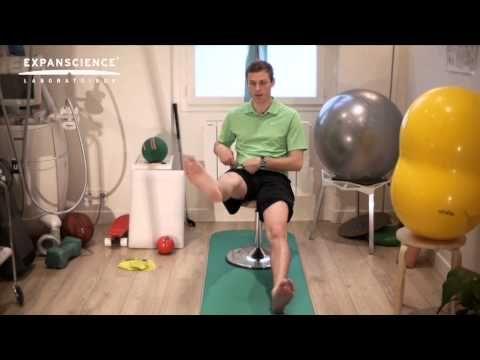 Soulager arthrose avancée de la hanche, exercices musculaire : Conseils du Kiné   Arthrolink.com - YouTube