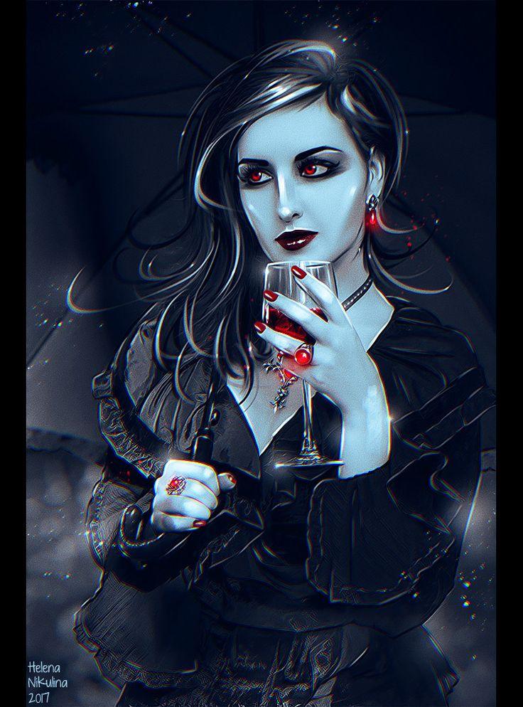 Картинки вампиры фентези