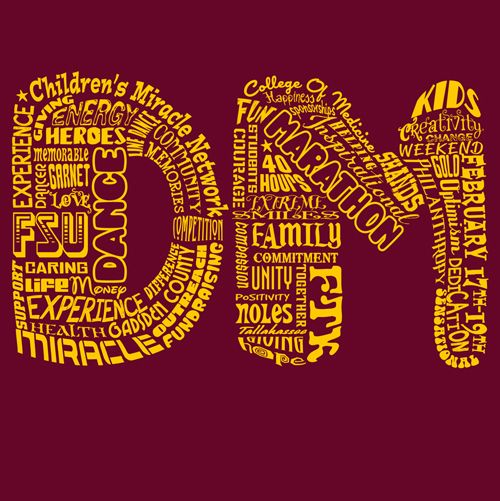 Noles 4 Kids || KEN YOUNG CO || shirt design, tshirt design ideas, inspiration, event shirts, fundraiser event, for the kids, children's miracle network hospital, shands, dance marathon, florida state university, fsu, tallahassee, florida