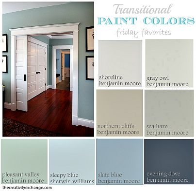Transitional Paint Colors #home #decor