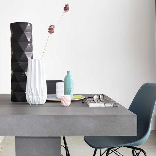 Vaso nero in ceramica H 52 cm DOROTHY
