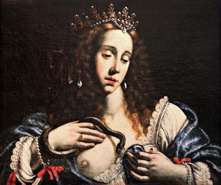 Giovanni Francesco Guerrieri | 1589-1657, Italy | Cleopatra | Fano (Italy), Fondazione Cassa di Risparmio