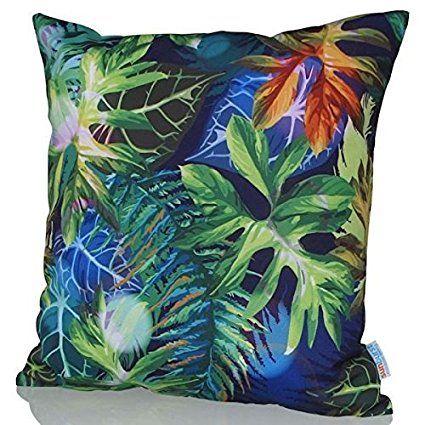Sunburst Outdoor Living 45cm x 45cm SULTRY Federa decorativa per cuscini per divano, letto, sofà o da esterni - Solo federa, no interno