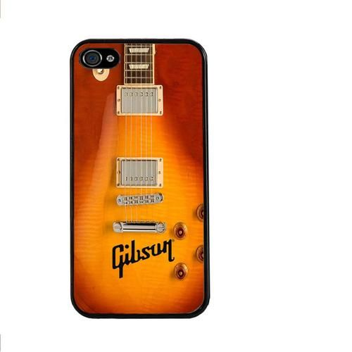 Gibson Guitar Les Paul Hard Back Cell Phone Cover Case for iphone