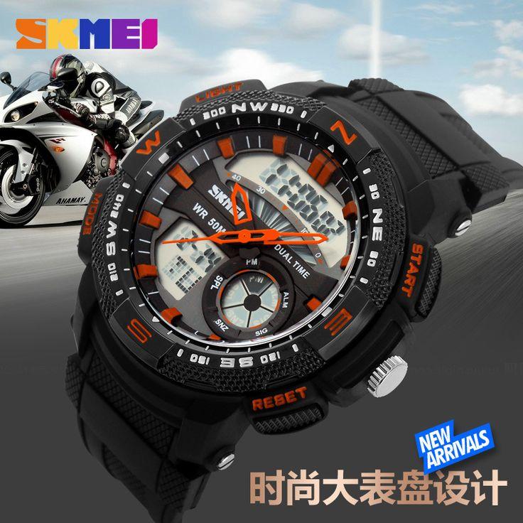 $29.92 (Buy here: https://alitems.com/g/1e8d114494ebda23ff8b16525dc3e8/?i=5&ulp=https%3A%2F%2Fwww.aliexpress.com%2Fitem%2FSKMEI-1109-Men-s-Sport-Watch-Men-Military-Watch-Black-Resin-Multi-function-Dual-Time-5ATM%2F32698375690.html ) SKMEI 1109 Men's Sport Watch Men Military Watch Black Resin Multi-function Dual Time 5ATM Waterproof Digital Watch for just $29.92