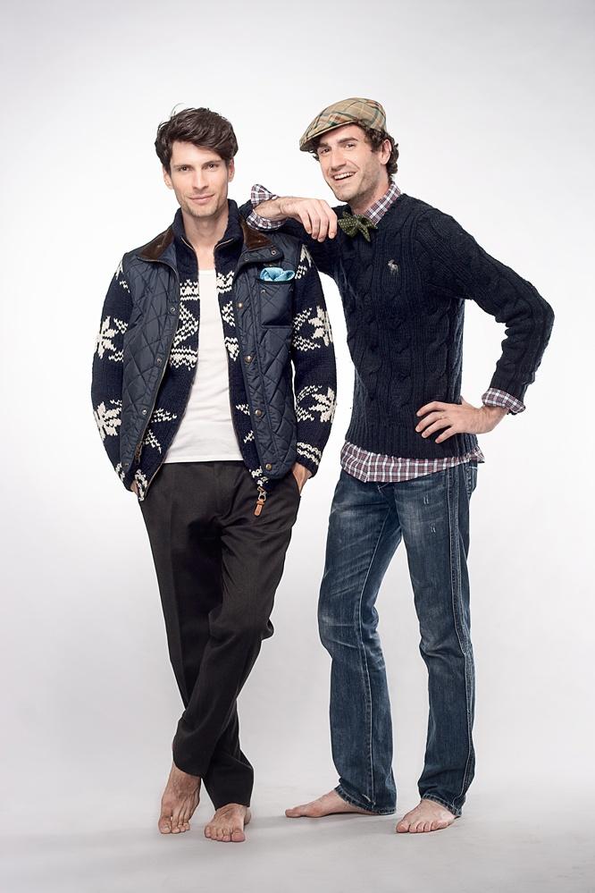 Models : Ted Puglia (Next)  Brad Smith (Montage)  Stylist : Serge Jean Laviolette  Hair : Amy NStylist  Cloths : Antoine Van Doorne  Photos : César Ochoa – avec Brad Smith et Ted Puglia.