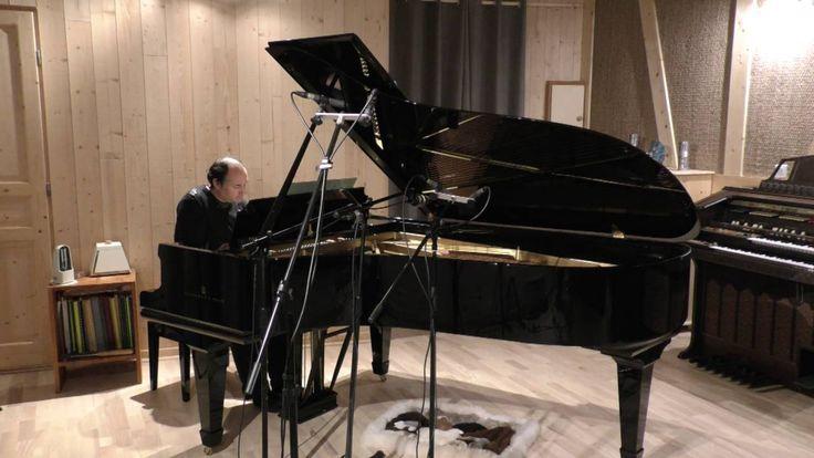 arabesque de Schumann par Florian Damour enregistrée live au studio MDDP