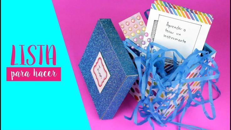 44 best regalos ideas para regalar diy images on pinterest - Hacer regalos originales a mano ...
