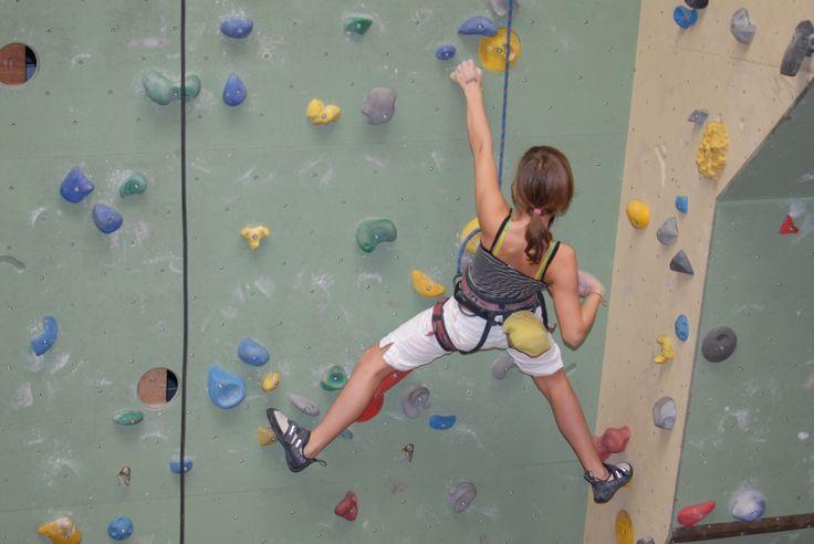 Indoor klimmen bij Ayers Rock Zoetermeer
