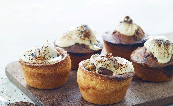 Er du vild med lakrids, vil du elske de her muffins, der smager skønt af lakrids